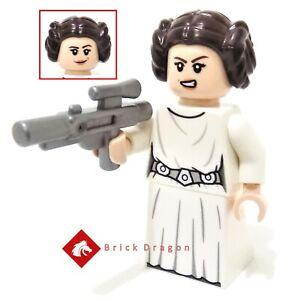 Lego Star Wars Princess Leia (Skirt) Minifigure from set 75301
