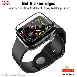 Apple iWatch 3D Screen Protector Temper Glass Series 1 To 6, SE, iWatch 1st GEN