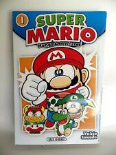 Livre SUPER MARIO MANGA AVENTURES Tome 1 Nintendo