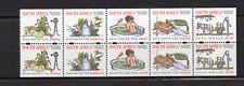RSA Afrique du Sud South Africa Y&T N°966 à 970 bloc de 10 timbres neufs /T3846