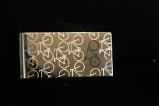 BNWT PAUL SMITH SILVER MULTI BIKE COLOURED MONEY CLIP RRP £60