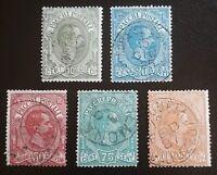 Italy  Q1-5  Used      catalog  $342.00
