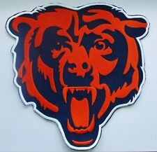 "(1) 8"" X 8"" NFL CHICAGO BEARS (FOR BACK OF JACKET) LOGO PATCH"