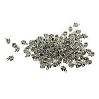 100pc Tibetan Silver Jewelry Connectors Bails Charms Beads Hanger Tube Beads