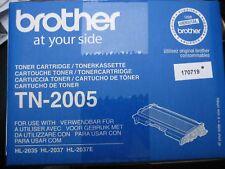ORIGINALE BROTHER TONER conf. orig. TN-2005 Merce NUOVA HL-2037 HL-2035 TN2005