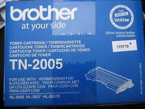 ORIGINAL BROTHER TONER OVP TN-2005  NEUWARE OVP  HL-2037 HL-2035  TN2005