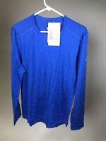 ICEBREAKER 100% Merino Wool Men's Oasis 200 Long Sleeve Crew Shirt - NWT!