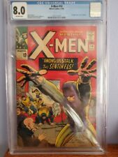 X-MEN #14 CGC 8.0 1st Appearance of the Sentinels