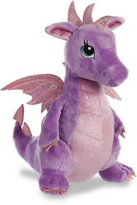 "Aurora - Sparkle Tales - 12"" Larkspur Dragon"