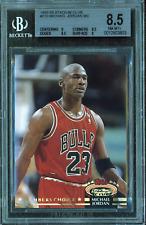 1992-93 Stadium Club Michael Jordan #210 MC BGS 8.5 NM-MT+