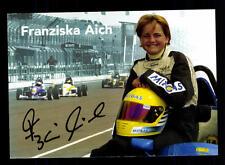 Franziska Aich Autogrammkarte Original Signiert Motorsport+A 124524