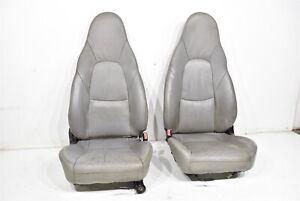1999-2005 Mazda Miata MX-5 Seats Seat Assembly Pair Front Left & Right OEM 99-05