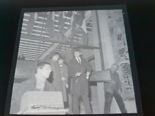 NEGATIF PHOTO ORIGINAL 6x6CM : JOHNNY HALLYDAY