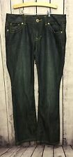 GUESS Women's Jeans PISMO Straight Leg Dark Wash SIZE 31 Cotton/Polyester