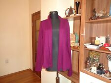 CHARTER CLUB LUXURY 100% CASHMERE THIN KNIT OPEN FRONT CARDIGAN-SIZE S