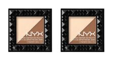 2 x NYX Cheek Contour Duo Palette - 02 Double Date 100% Brand New
