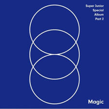 SUPER JUNIOR [MAGIC] Special Album PART.2 CD+Photobook K-POP SEALED