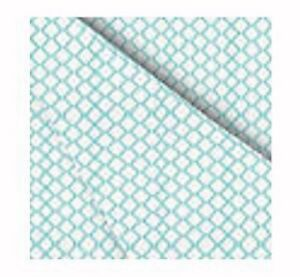 Home Expressions By JCP Microfiber Sheet Set Size Twin - Turquoise Tiles