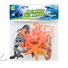 Set animali marini in gomma dura, Giocattoli per bambino 3+
