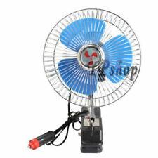 13CM ELUTO Ventilatore Auto Doppia Testa Ventilatore 24V Elettrico Ventola di Raffreddamento per Auto 3 velocit/à e 360/° Ventilatore per Auto Ruotabile per SUV Camper Nave da Crociera