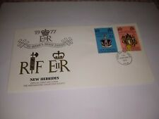New Hebrides 1977 Silver Jubilee First Day Cover