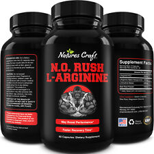 Nitric Oxide Booster Energy Supplement - Natural Testosterone Booster for Men...