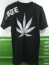 New Mens PRVTE 420 Marijuana Black T-Shirt Size M ***