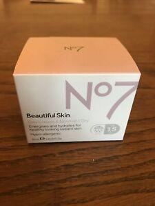 No 7 Beautiful skin Day Cream 50ml Sealed Unopened