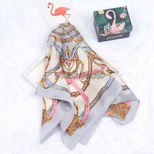 "100% Pure Silk Square Kerchief Smooth Grace Lady Fashion Neckerchief 22""*22"""