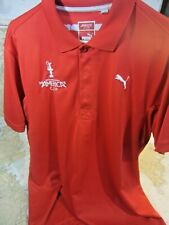 """PUMA """"AMERICAS CUP"""" SAILING POLO SIZE: LARGE (RED)"""