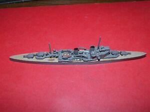 1:1200 Scale: metal British HMS Kent
