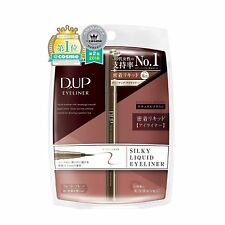 DUP Silky liquid eyeliner WP waterproof Natural Brown Shipping from Japan