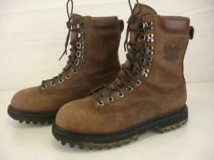 Women's 9 M Cabela's Iron Ridge GORE-TEX Insulated Hunting Boots Brown Leather