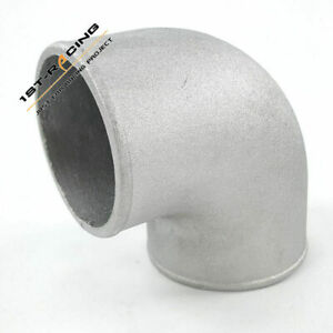 "3.5"" Cast Aluminum 90 Degree Elbow Pipe Turbo Intercooler Tight Bend Pipe"