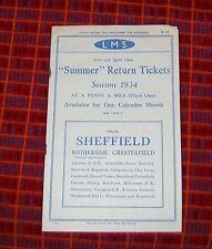 LMS Collectable Railway Handbills