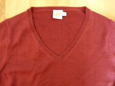 Super light-weight V-Neck, Maroon Jumper. Excellent condition. (Size 8)