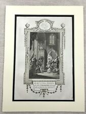 1791 Print King Henry VII Perkin Warbeck Pretender to the Throne Engraving