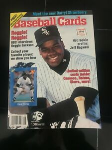 Baseball Cards Magazine August 1991 w Limited Edition Cards Unopened