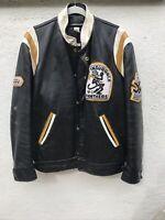 Vintage leather jacket OG CAFE RACER / HOCKEY VARSITY JKT