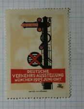 German Traffic Exhibition 1925 Exposition Poster Stamp Ads