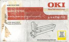 Yellow drum OKI C5600 / C5700 original - 20000 pages