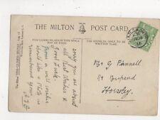 Nailsworth 1914 Thimble Postmark 596a