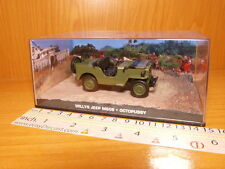 WILLYS JEEP M606 1:43 OCTOPUSSY JAMES BOND 007 CAR