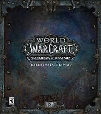 World of Warcraft: Warlords of Draenor -- Collector's Edition Brand NEW SEALED