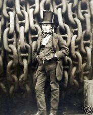 Isambard Kingdom Brunel Bristol Repro 10x8 Photo