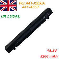 8 Cell Laptop Battery for Asus X550 X550C X550CC X550CA X550B X550V A41-X550A