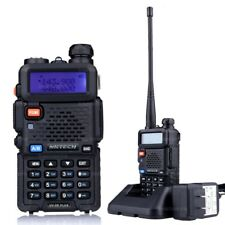 NKTECH UV-5R PLUS U/VHF Tri-Power 8W 4W 1W Two-Way Radio Dual-Band Walkie Talkie