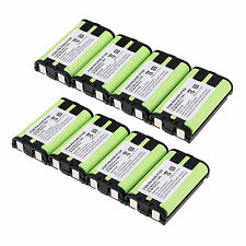 Lot of 8PCS HHR-P104 3.6V 900mAh Home Phone Battery For Panasonic HHRP104 Set