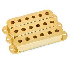 NEW Gold PICKUP COVERS for Fender Stratocaster Strat Guitar Parts Part