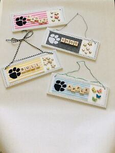 Personalised Dog Plaques - Names With Upto 5 Letters ONLY
